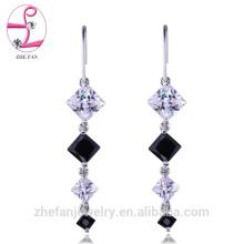 jewelry zhefan sgs certificate bridal chandelier long wedding chandelier earrings