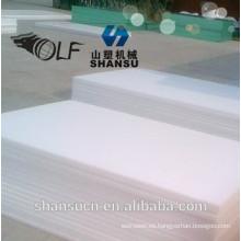 Tablero imprimible blanco de la espuma del PVC para la muestra, placa impermeable del celuka de WPC / tablero de la espuma de WPC / hoja de la espuma del PVC para la construcción