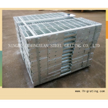 Hot Sale Galvanized Steel Stair Tread with Non-Slip Nosing
