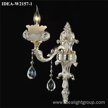 classical wall light crystal chandelier bedroom