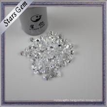 Lab Created Pear Shape Various Shape and Size Diamond CZ