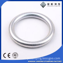 small Metal o ring clear silicone o-ring metal ring box