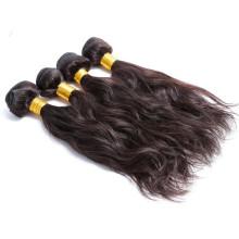 Extensiones peruanas vivas del cabello humano de la calidad del grado 6a del pelo 1b # 6a superior