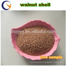 grain de coquille de noix / granule de coquille de noix