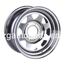OEM Steel Wheel for Trailer With Cap