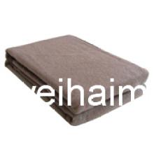 20%Wool/80%polyester cobertor de emergência de refugiados misturado