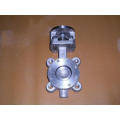 Lug Type Double Eccentric Butterfly Valve with Buna Seat