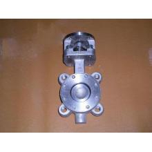 Tipo válvula de talão de borboleta para o elevado desempenho com disco fixado