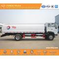 SINOTRUK 4X2 15000L aluminium fuel tank truck