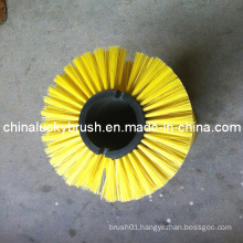PP Material Yellow Road Sweeper Brush (YY-206)