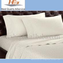 Tipos de alta calidad blanca llana del hotel de la funda de almohada