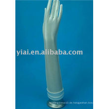 2013 Ellenbogen-Brauthandschuh mit den Fingern 007