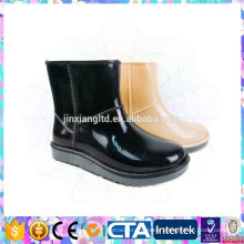 fashion waterproof rain boots