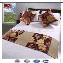 Nueva bufanda de la cama del hotel del diseño de los surtidores del hotel