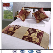 New design hotel bed scarf from hotel suppliers
