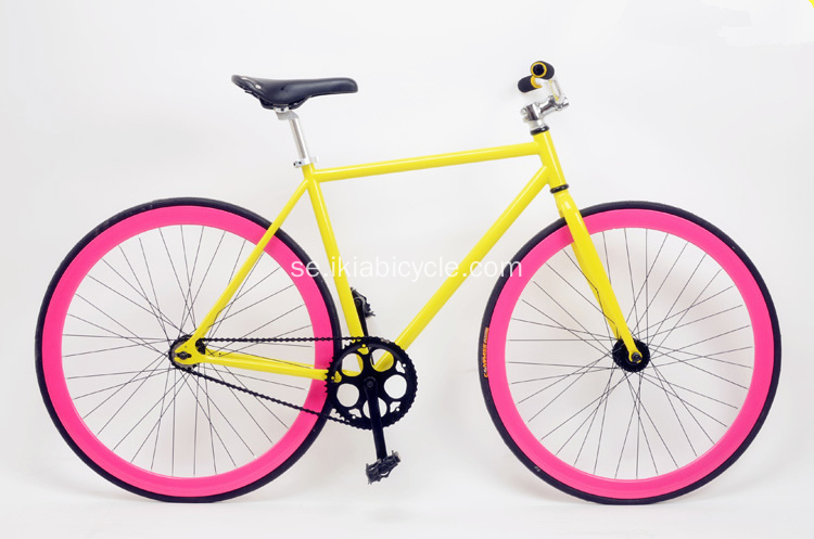 Colorful 700C Fixed Gear Bike
