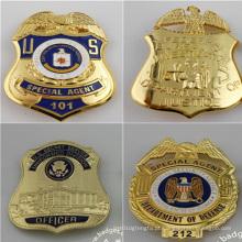 Emblema militar, crachá de identificação de segurança personalizada (GZHY-KA-019)