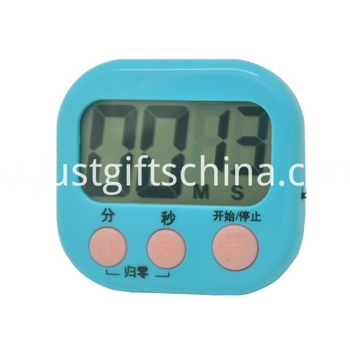 Promotional Plastic Square Shaped Timer_2