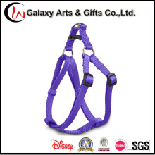 Pet Supply Adjustable Polyester Purple Comfort Dog Harness