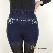 Jeans Pattern Kintted Dance Shorts