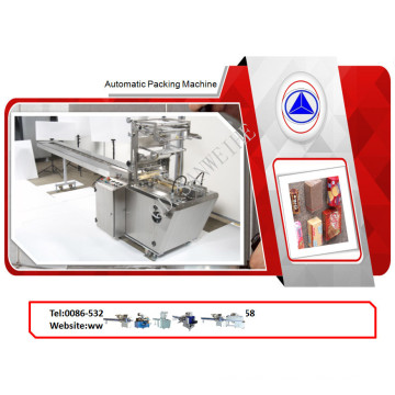 Envelope-Form Packing Machine for Waffle/Wafer/Cookie Biscuit