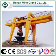 Electric Double Beam Grapple Gantry Crane
