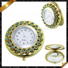 Montres en cristal pavé, bijoux en miroir (MW001)