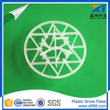 Copo de nieve de plástico Intalox
