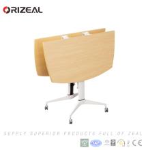 Mesa de reunión de piernas de metal de alta calidad mesa de conferencia cuadrada plegable pequeña (MCT-SQUARE)