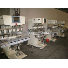 HP-300FY Pneumatische Tintenbecher 6 Farbhelm Tampondruckmaschine mit Shuttle