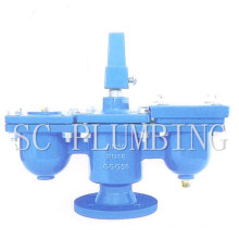 Flange End Double Orifice Air Valve