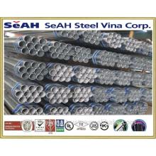 """6 """"tubo de conducto y otras tuberías de acero por debajo de 8"""" a JIS C8305, UL6, ANSI C 80.1"""
