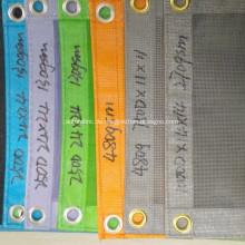PVC-beschichtetes Gittergewebe Konstruktionssicherheit feuerfestes Netz