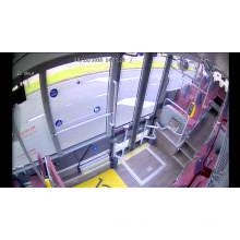 Câmera de CCTV de carro HD para caminhão, ônibus escolar, van