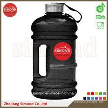 2.2L BPA libera la botella de agua de encargo de PETG con la manija