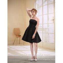 Una línea de cariño corto / mini vestido de fiesta de organza con vestido de fiesta D0007