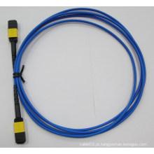 Cabo de fibra óptica de MPO / APC-MPO / APC para o centro de dados de FTTH