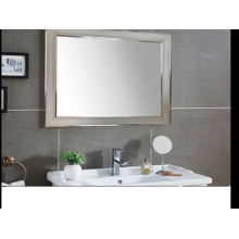 Plastic frame new design bathroom mirror