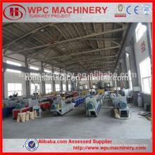 wood plastic production line wood plastic composite production line