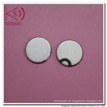 Precio bajo Pzt Piezo cerámica 25 mm al por mayor Pzt Piezo elemento de cerámica