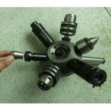 Dispositivo de fixação para torneira de furação - Torreta de cabeçote móvel com kit de fixação