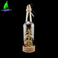 Angel Wine Bottle Decor With Twinkle Fairy Lights