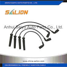 Câble ignifuge / fil d'allumage pour Daewoo (96211948)