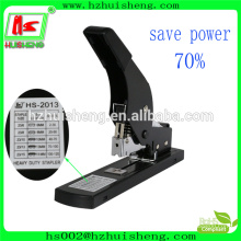 Office save power big size stapler , max heavy duty stapler