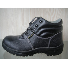 Split Embossed Leather & PU Safety Shoes (HQ1537)