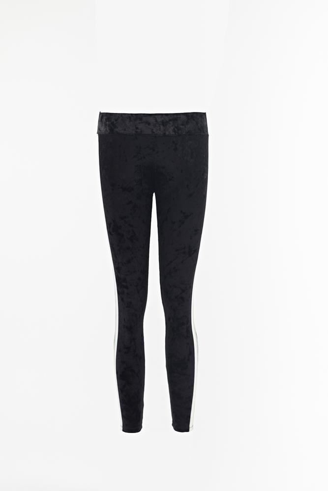 Ladies Velvet Leggings