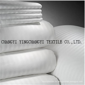 2015 tela caliente del color de la venta 100% algodón blanco
