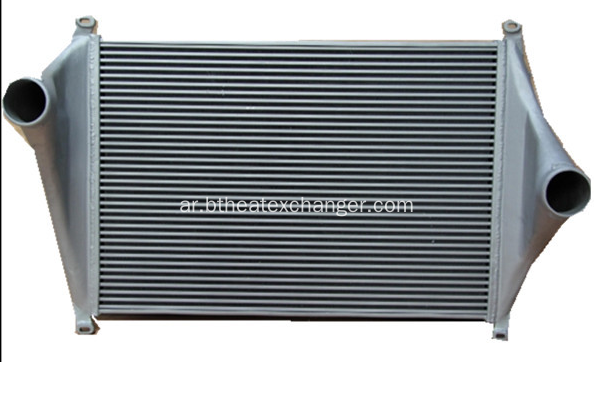 Aftermarkets Aluminium Intercooler للشاحنات