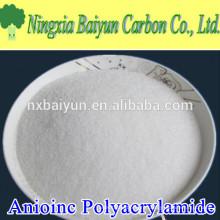 Анион порошок полимера Анионный Флокулянт Полиакриламида для водоочистки
