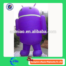 La vente en gros personnalise l'Android gonflable géant, la grande publicité gonflable pour Android Android